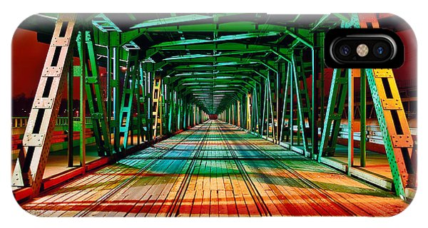 The Gdanski Bridge IPhone Case