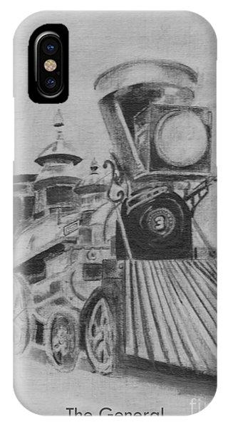 The General - Train - Big Shanty Kennesaw Ga IPhone Case