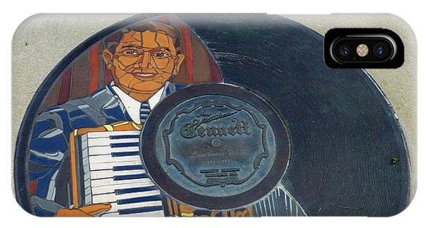 The Gennett Walk Of Fame - Lawrence Welk IPhone Case
