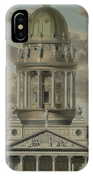 Baroque iPhone Case - The German Cathedral On The Gendarmenmarkt by GF Kluge