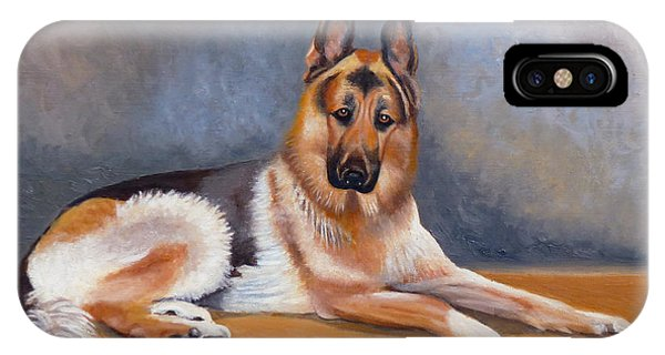 The German Sheppard IPhone Case