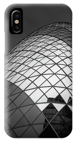 England iPhone Case - The  Gherkin by Ahmed Thabet