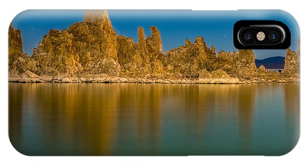 The Ghost Ship At Mono Lake IPhone Case