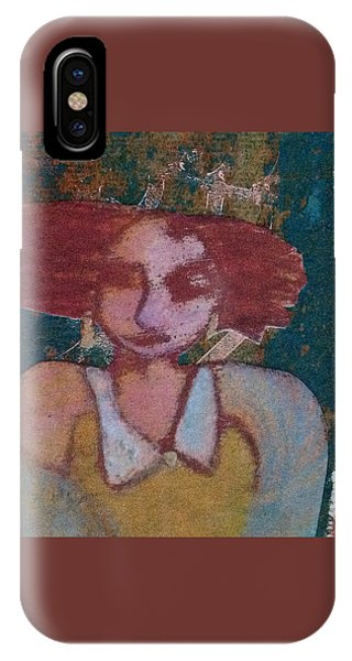 The Girl Waits IPhone Case