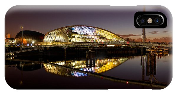 The Glasgow Science Centre IPhone Case
