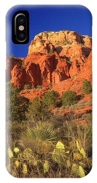 The Glory Of The Desert Red Rocks 1 IPhone Case