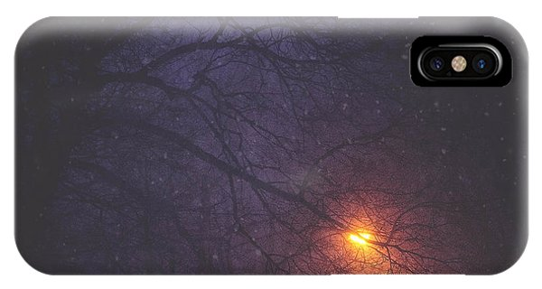 The Glow Of Snow IPhone Case