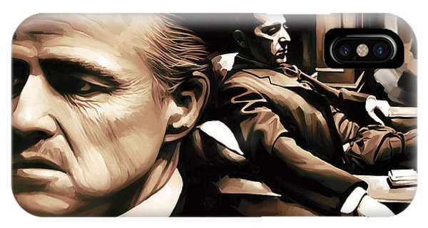 The Godfather Artwork IPhone Case