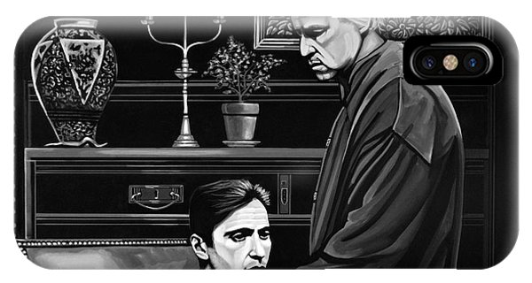 Day iPhone Case - The Godfather  by Paul Meijering