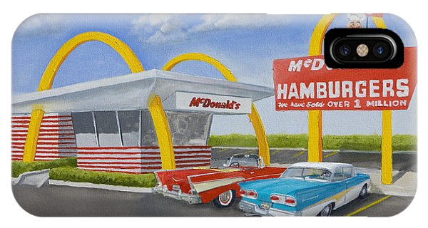 The Golden Age Of The Golden Arches IPhone Case