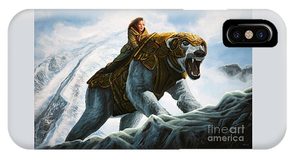 Bear iPhone Case - The Golden Compass  by Paul Meijering