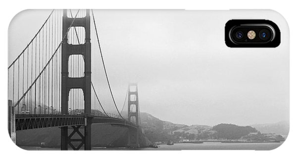 The Golden Gate Bridge In Classic B W IPhone Case