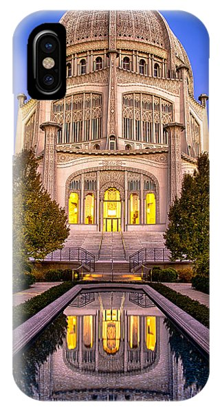 The Golden Jewel - Baha'i Temple  IPhone Case