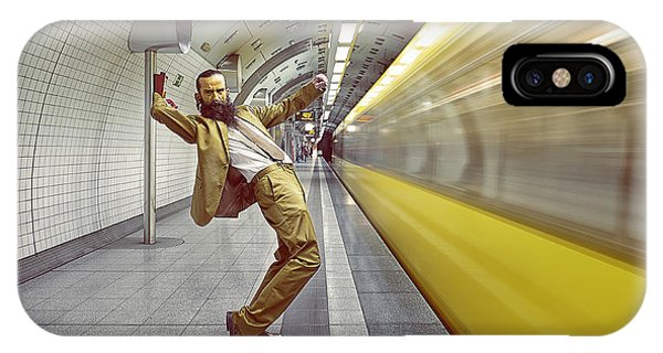 People iPhone Case - The Golden Rush by Frank Waechter