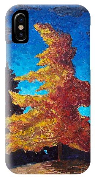 Samantha iPhone Case - The Golden Tree by Samantha Black