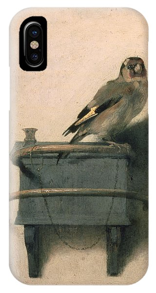 Finch iPhone Case - The Goldfinch by Carel Fabritius