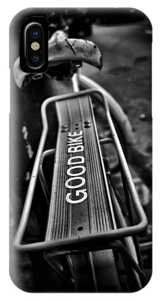 IPhone Case featuring the photograph The Good Bike by Brian Carson