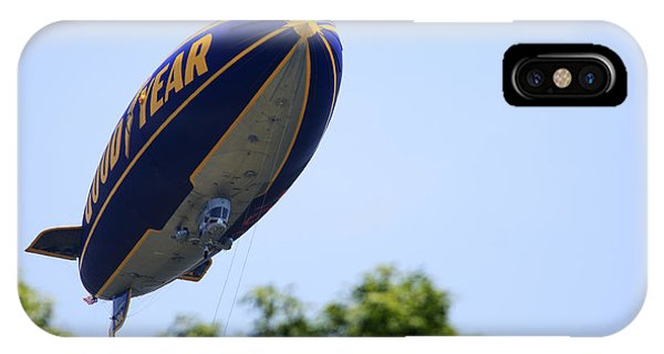 The Goodyear Blimp N3a IPhone Case