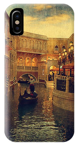 The Grand Canal Shoppes IPhone Case