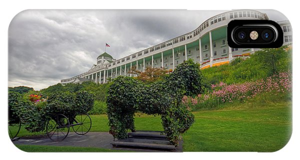 The Grand Hotel Mackinac Island IPhone Case