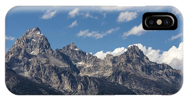 Rocky Mountain Np iPhone Case - The Grand Tetons - Grand Teton National Park Wyoming by Brian Harig