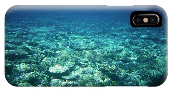 Barrier Reef iPhone Case - The Great Barrier Reef by Andrew Mcclenaghan/science Photo Library.
