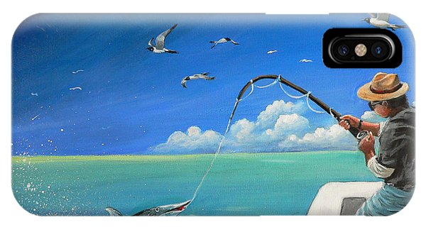 The Great Catch 1 IPhone Case