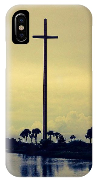 The Great Cross IPhone Case