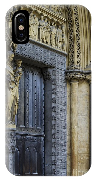 The Great Door Westminster Abbey London IPhone Case