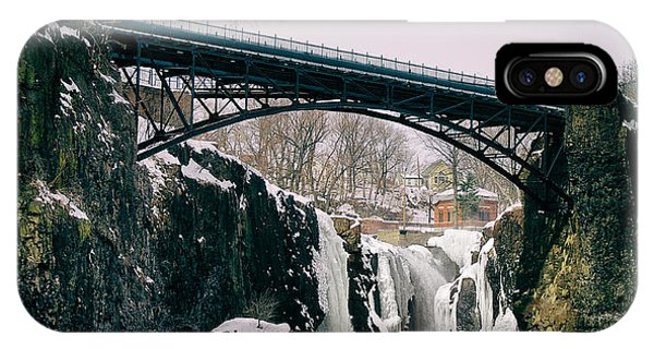 The Great Falls Of Paterson IPhone Case