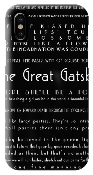 The Great Gatsby Quotes IPhone Case