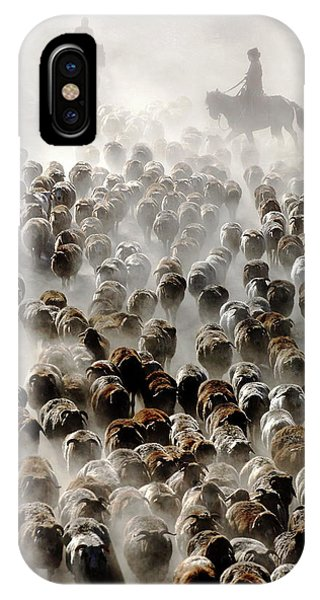 Dust iPhone Case - The Great Migration Of China by Adam Wong