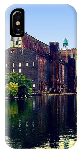 The Great Northern Elevator Phone Case by John Carncross