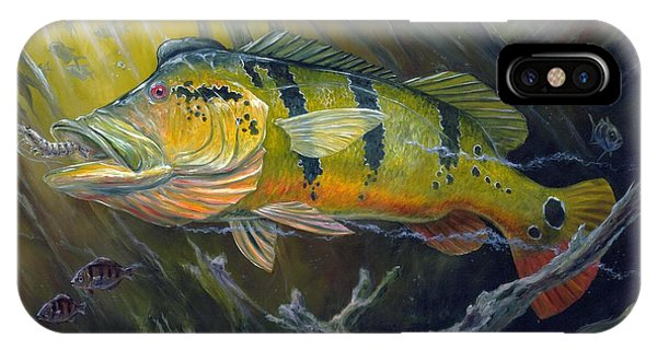 The Great Peacock Bass IPhone Case