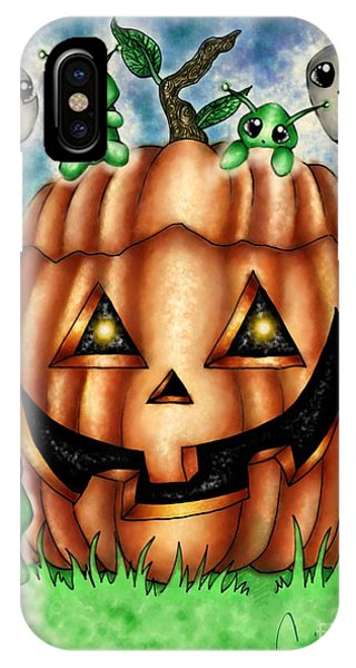 The Great Pumpkin Phone Case by Coriander  Shea