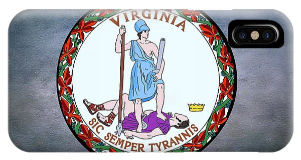 The Great Seal Of The State Of Virginia  IPhone Case