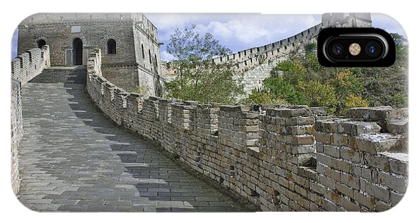 The Great Wall Of China At Mutianyu 1 IPhone Case