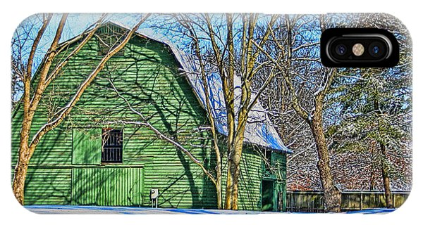 The Green Barn IPhone Case