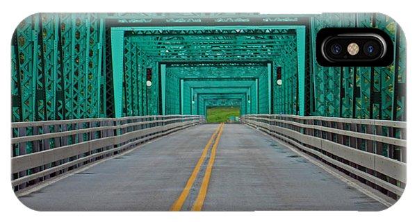 The Green Bridge IPhone Case