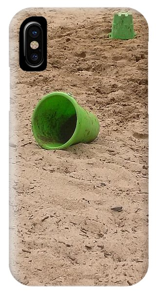 The Green Bucket Phone Case by Wendy Hall