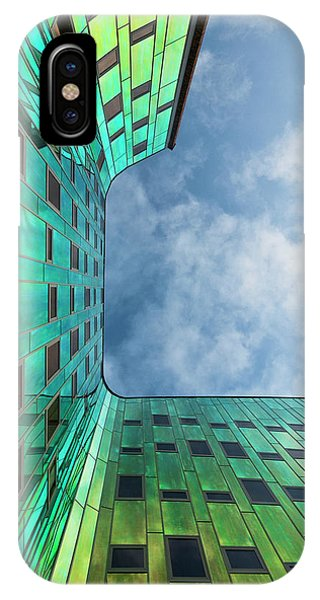 The Green Building Phone Case by Leon