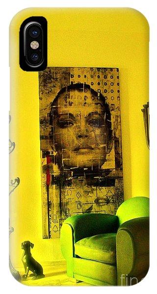 The Green Chair Phone Case by Taylor Steffen SCOTT