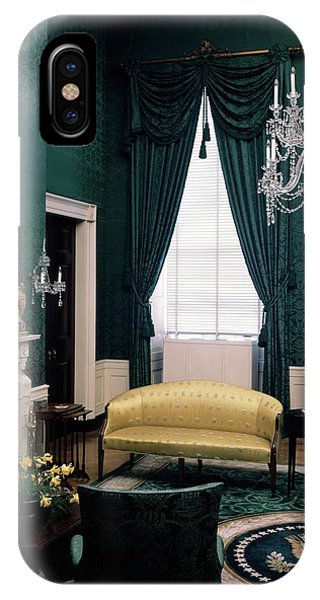 The Green Room In The White House IPhone Case