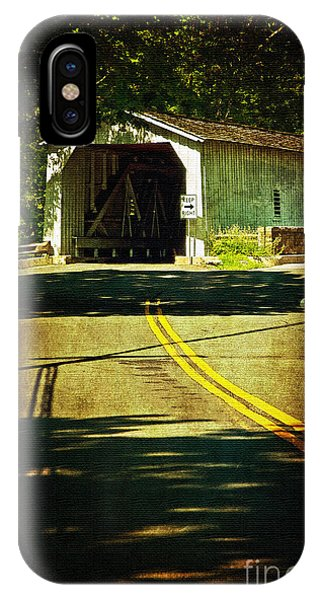 The Green Sergeants Covered Bridge IPhone Case