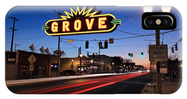 The Grove In Twilight IPhone Case