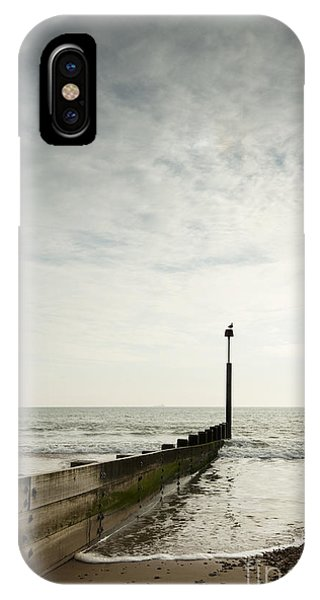 Bournemouth iPhone Case - The Groyne by Anne Gilbert