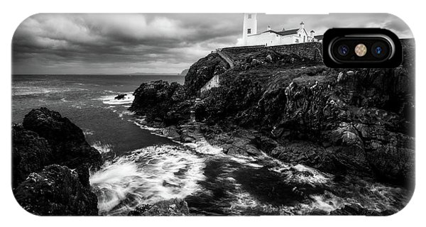 Lighthouse iPhone Case - The Guardian by Daniel Fleischhacker