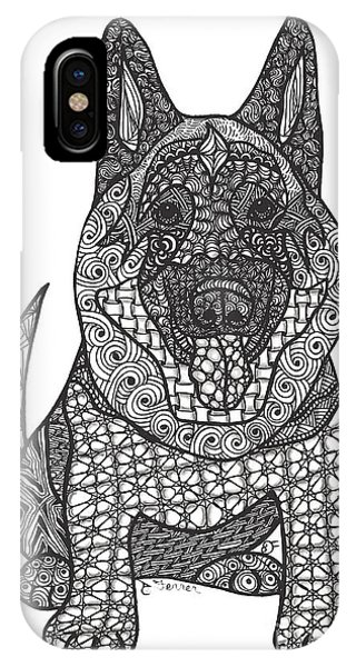 The Guardian - German Shepherd IPhone Case