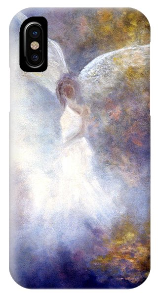 Violet iPhone Case - The Guardian by Marina Petro