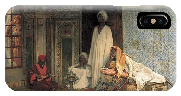 The Guards Of The Harem  IPhone Case